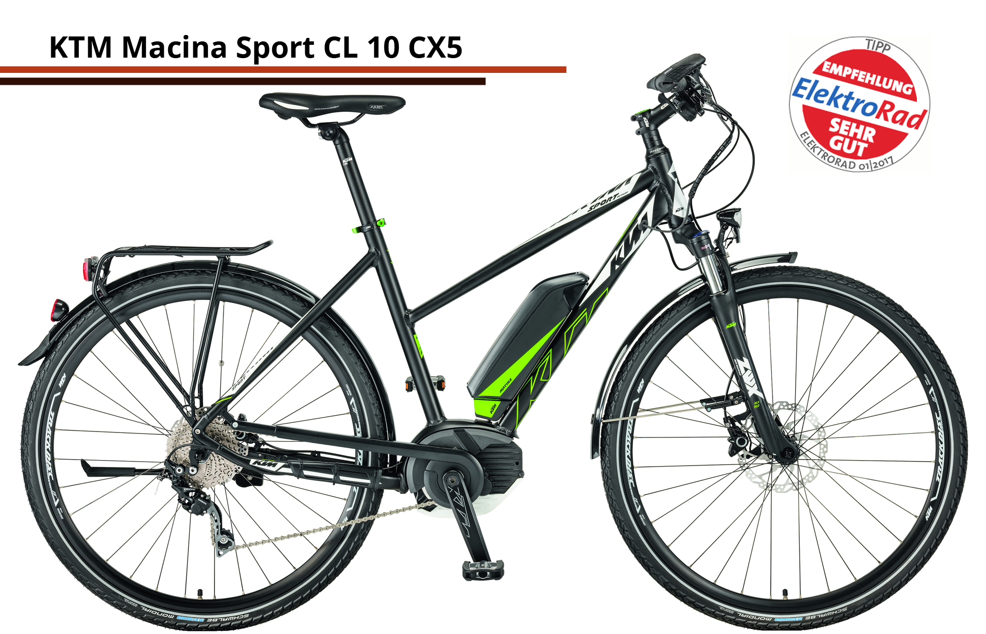 KTM Macina Sport CL 10 CX5 Trap