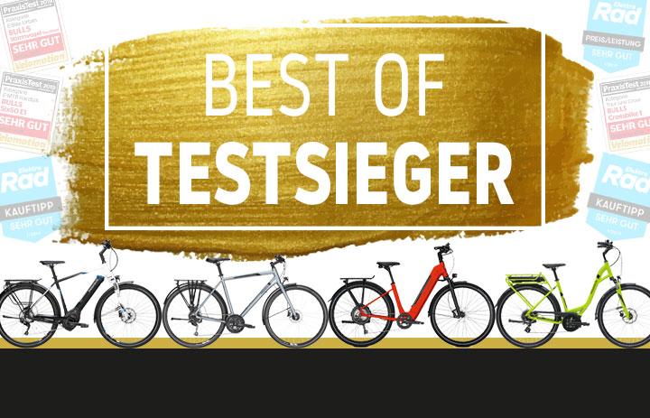 Testsieger Finder E- Bike Fahrrad