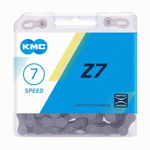 ketten/Kette: KMC  Kette Z 7 114 Gl. (GreyBrown)