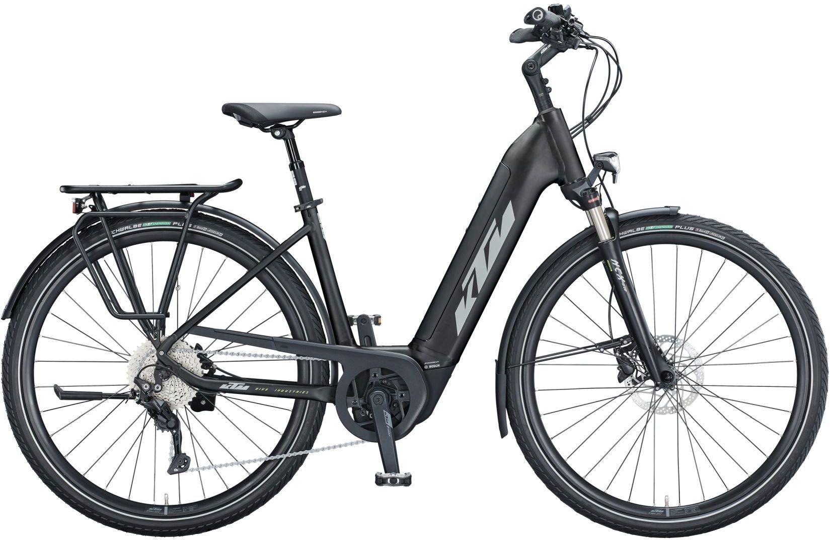 E-Bikes: KTM  CENTO 10 (500 Wh) 10 Gang Kettenschaltung Damenfahrrad Wave Modell 2021 29 Zoll 51 cm