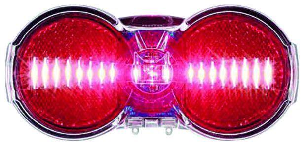 Busch & Müller TOPLIGHT Flat S permanent Batterie-Rücklicht