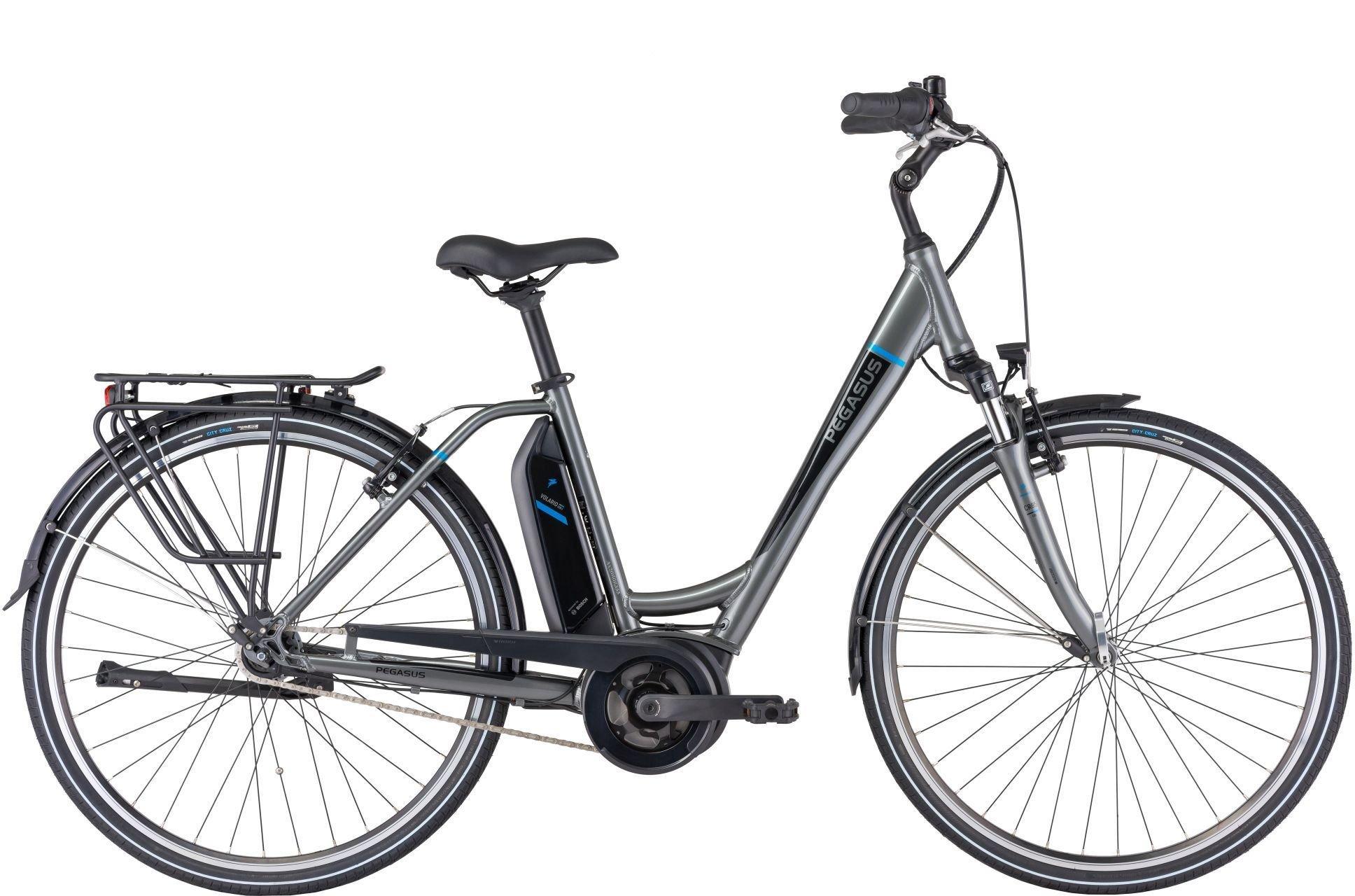 E-Bikes: Pegasus  Ancura E7R V (400 Wh) 7 Gang Nabenschaltung Damenfahrrad Wave Modell 2021 28 Zoll 54 cm