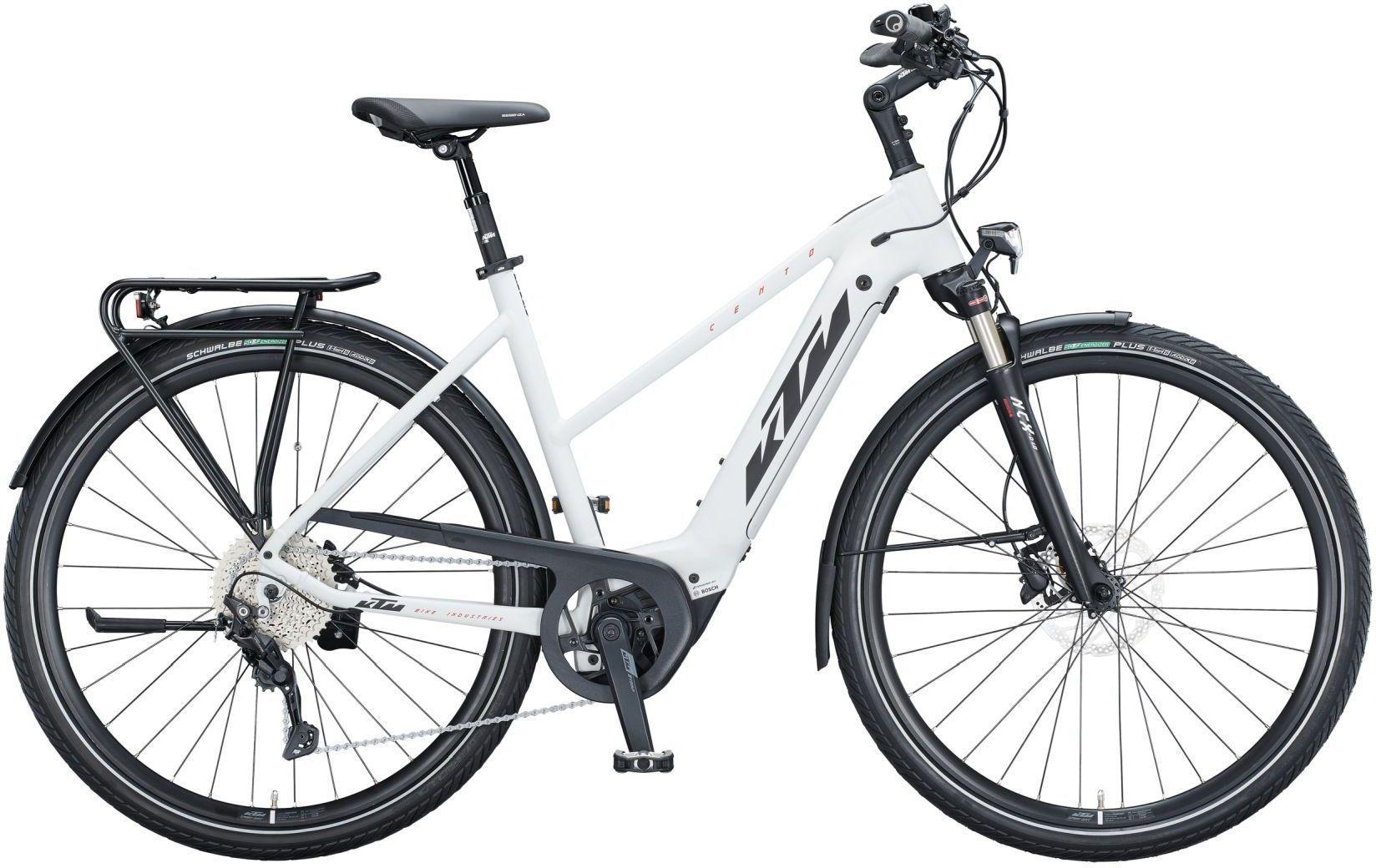 E-Bikes: KTM  CENTO 10 (500 Wh) 10 Gang Kettenschaltung Damenfahrrad Trapez Modell 2021 29 Zoll 51 cm
