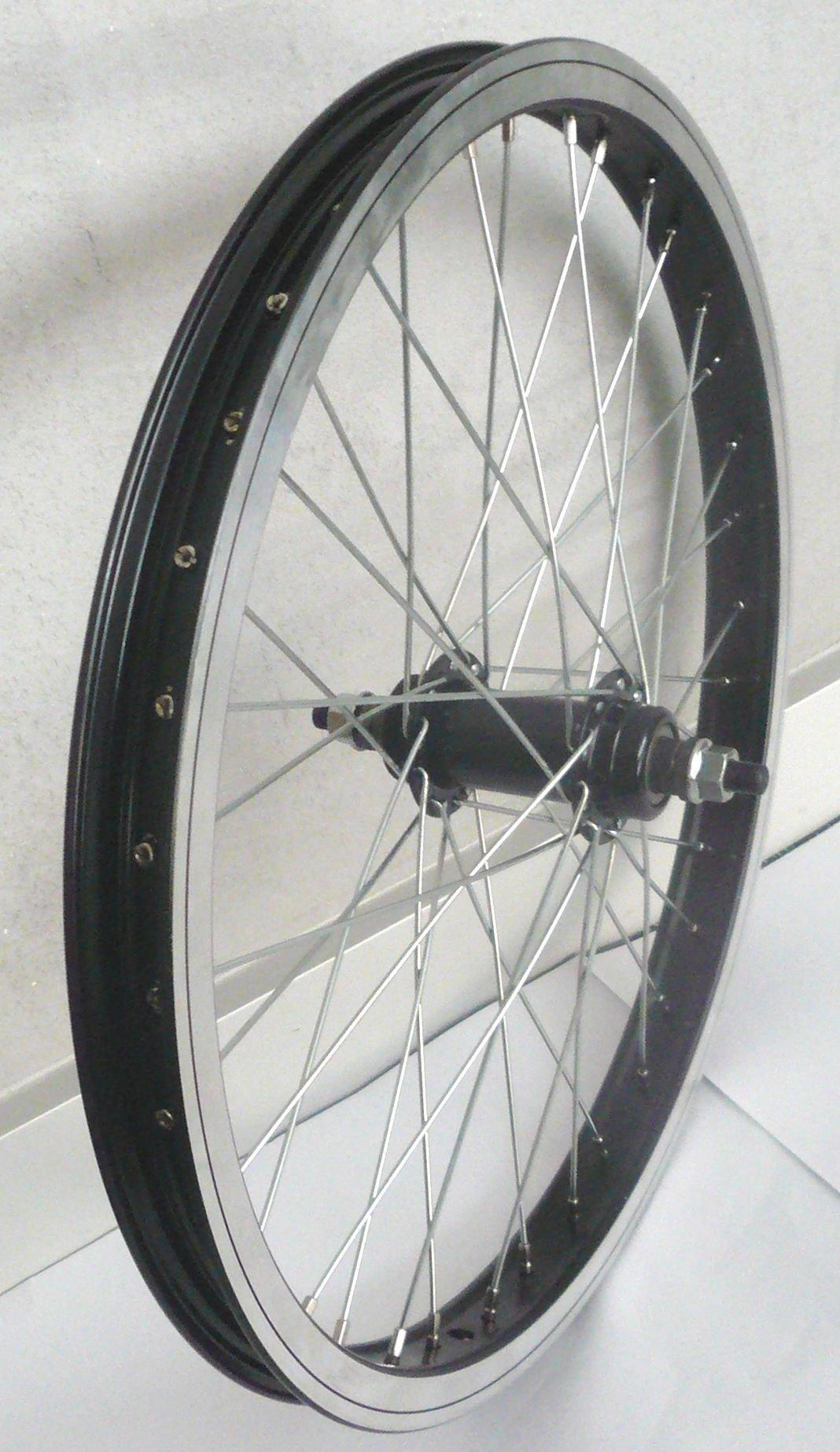 laufräder: Bulls  BMX Vorderrad 20 Zoll Fisbone P1000P2000