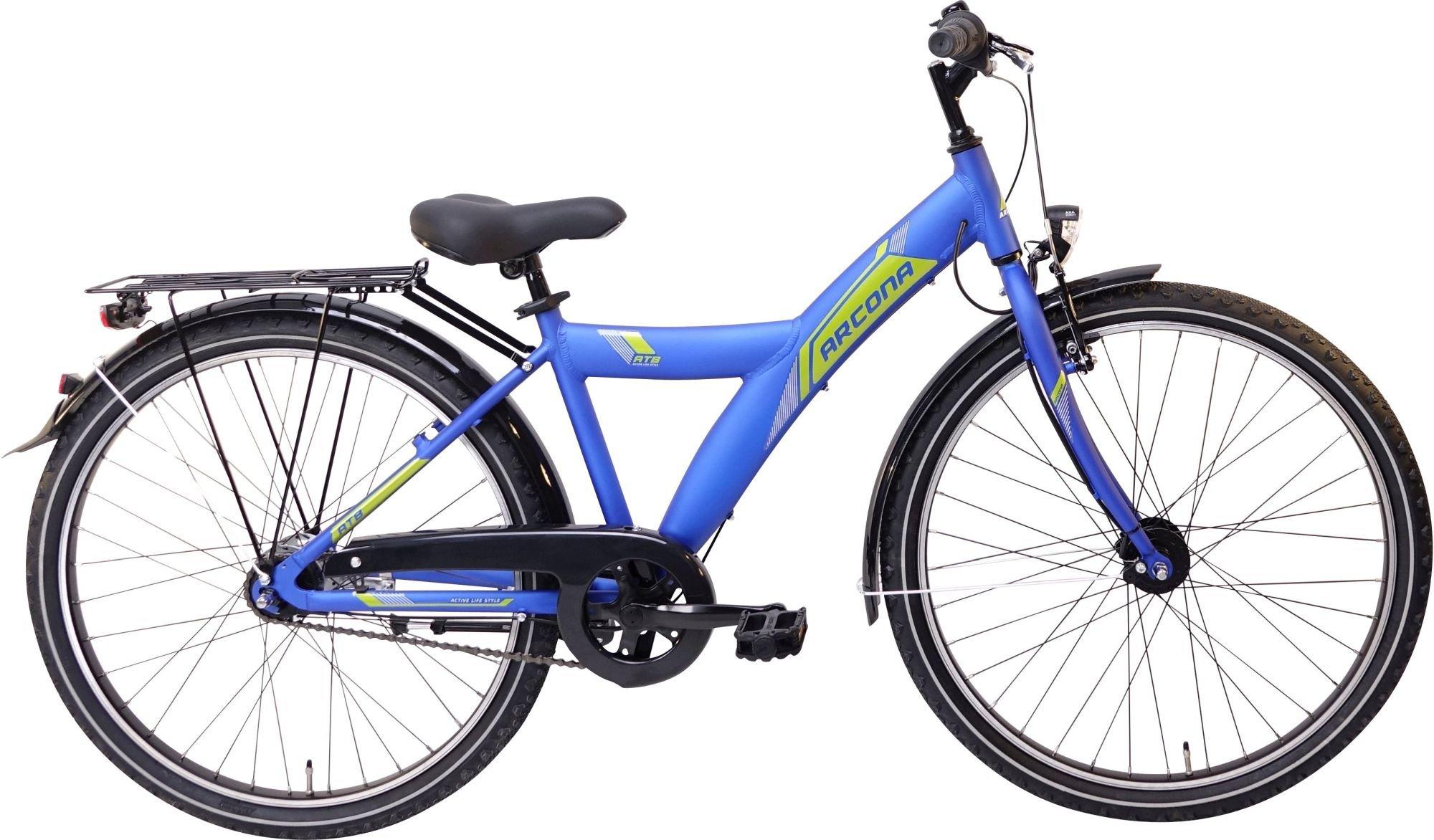 street-Fahrräder/Kinder und Jugendräder: ARCONA   ALU ND 7 Gang Nabenschaltung Herrenfahrrad Banana Modell 2020 26 Zoll 38 cm Active- MATT