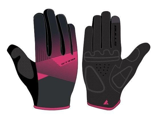 BULLS Damen Langfingerhandschuh Kiba XL black pink
