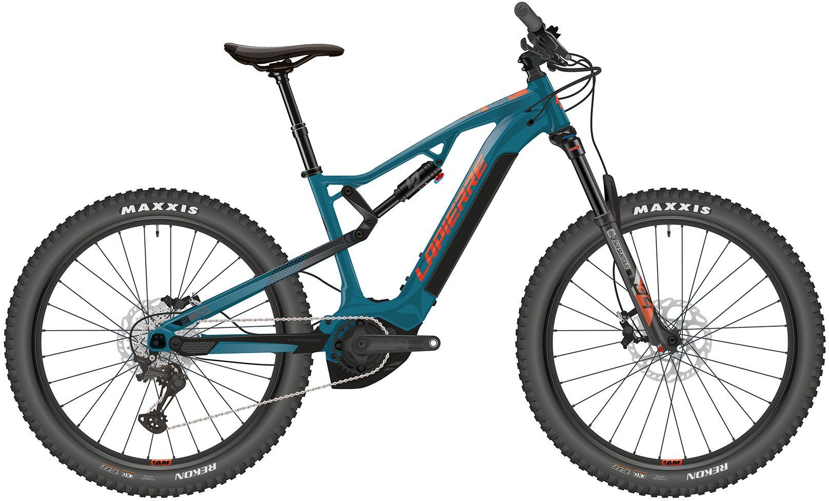 fullsuspensions/E-Mountainbikes: Diamant  OVERVOLT TR 4.5 11 Gang Kettenschaltung Herrenfahrrad Diamant Modell 2021 275 Zoll 46 cm