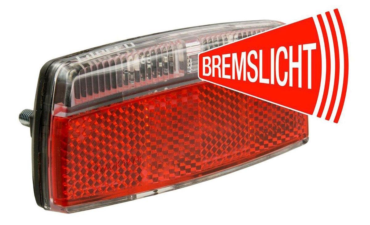 rücklichter/Beleuchtung: Litecco  E-Rückleuchte mit Bremslichtfkt G-RAY E2