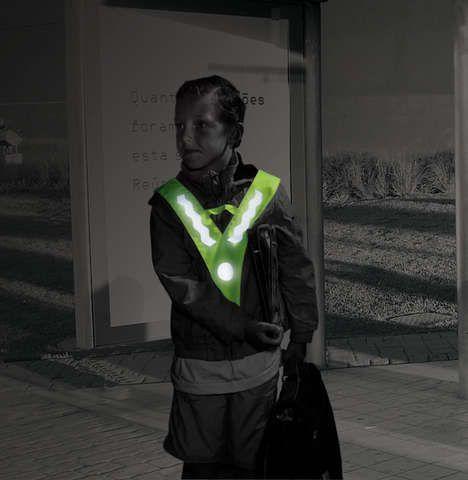reflektoren/Beleuchtung: Tip Top  Sicherheitsdreieck für Kinder
