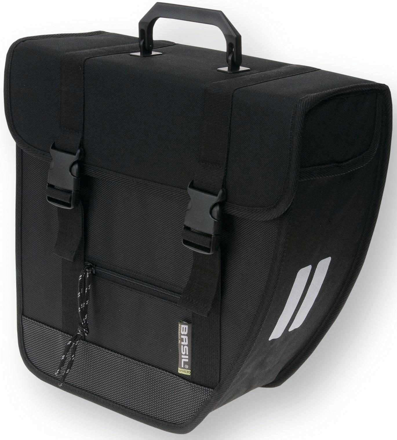 Basil Tour Single Bag Einzelpacktasche für rechts 17 Liter schwarz