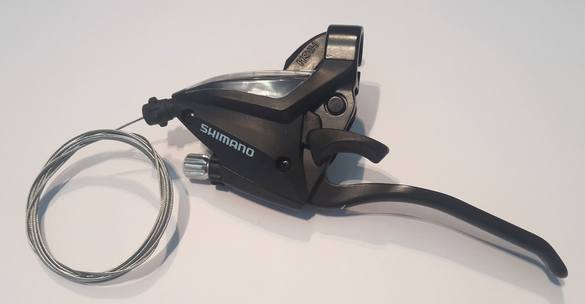 schalthebel (kettenschaltung)/Schaltung: Shimano  Bremsgriff ST-EF500 3-fach