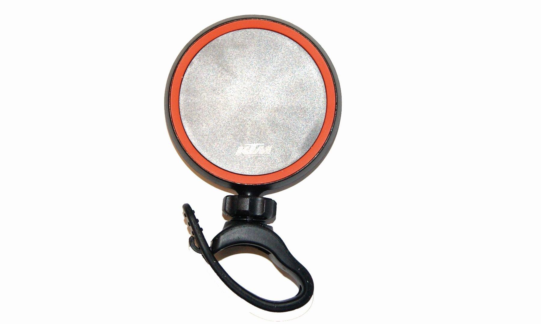 KTM Rückspiegel Sicherheitsspiegel schwarz/orange