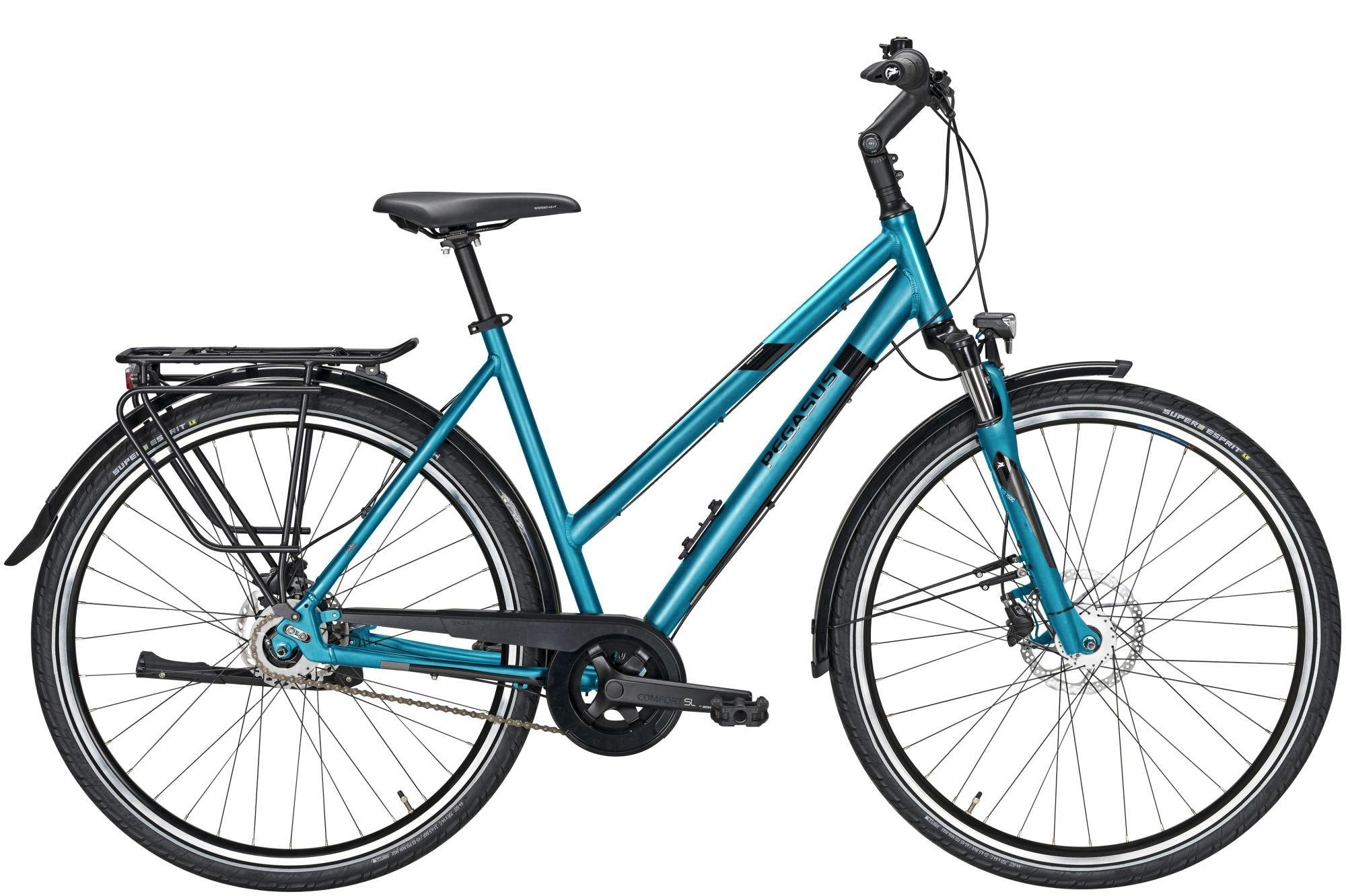 city-/tourenräder/Citybikes: Pegasus  Savona SL Disc 8 8 Gang Nabenschaltung Damenfahrrad Trapez Modell 2021 28 Zoll 53 cm