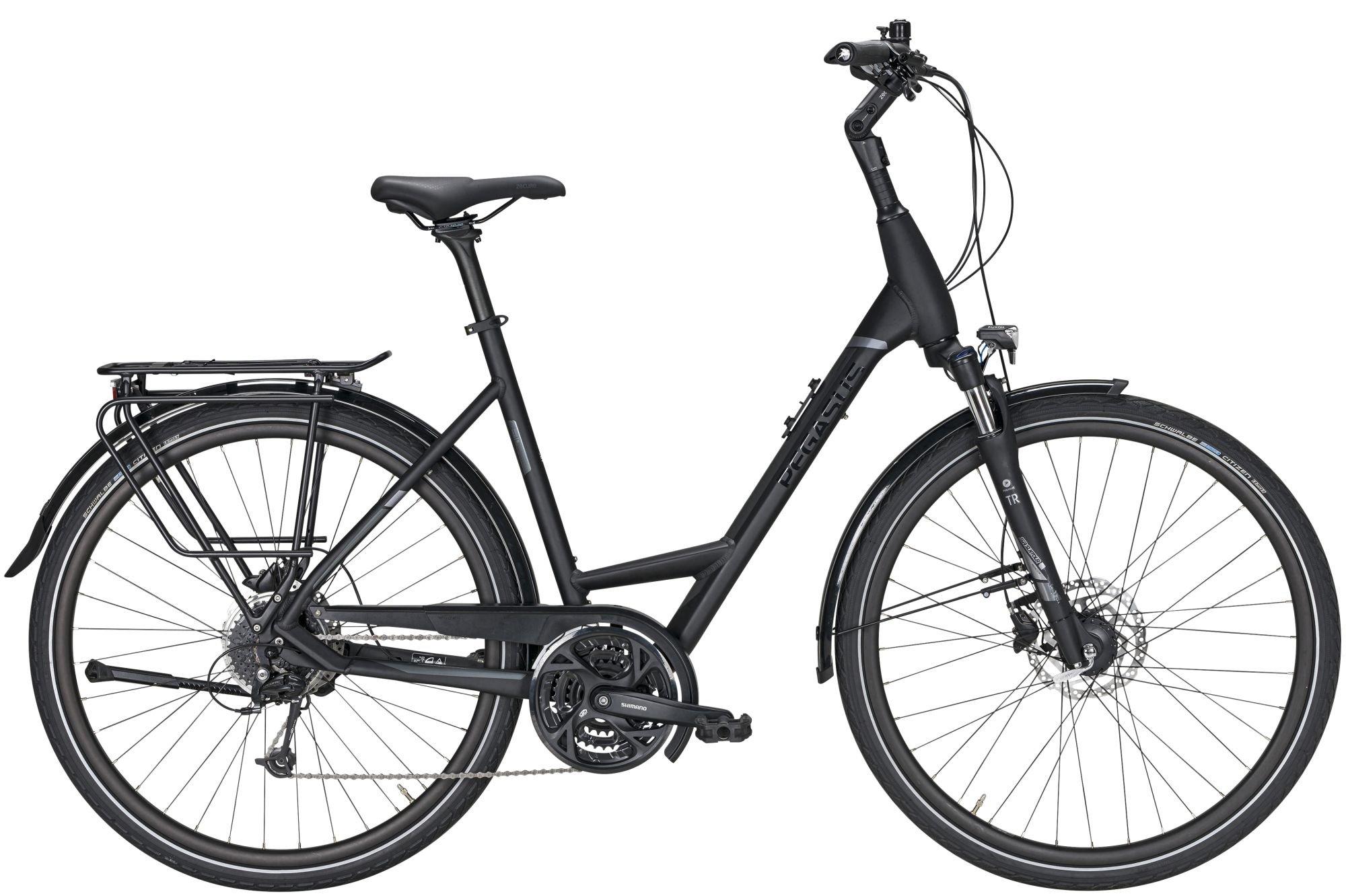 Fahrräder/Trekkingräder: Pegasus  Strong SL 27 Gang Kettenschaltung Damenfahrrad Wave Modell 2021 28 Zoll 60 cm