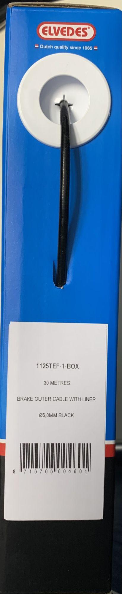 felgenbremsen zubehör/Bremsen: Elvedes  Bremszughülle Bremskabel 30m x 50mm