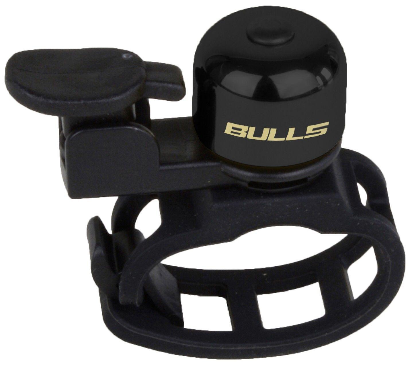 Bulls Glocke mit Schnellbefestigung Mini schwarz