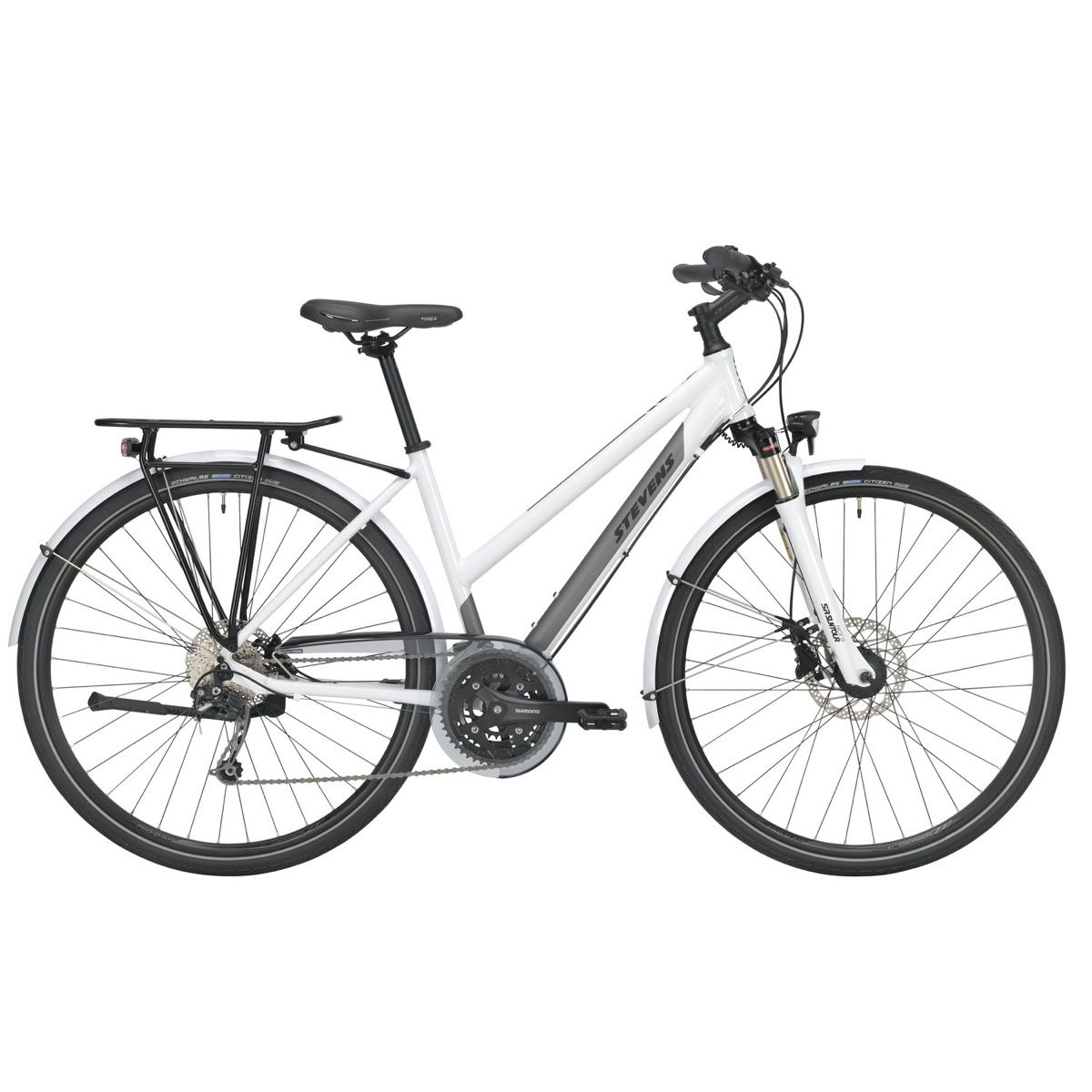 Fahrräder/Trekkingräder: STEVENS  Savoie Plus Lady 27 Gang Kettenschaltung Damenfahrrad Trapez Modell 2019 28 Zoll 54 cm