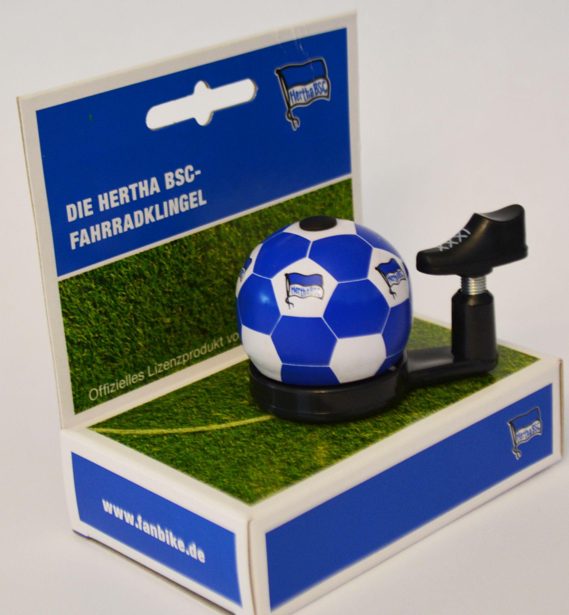 glocken & hupen/Klingeln & Hupen: FanBike  Glocke  Fan-Klingel Hertha BSC