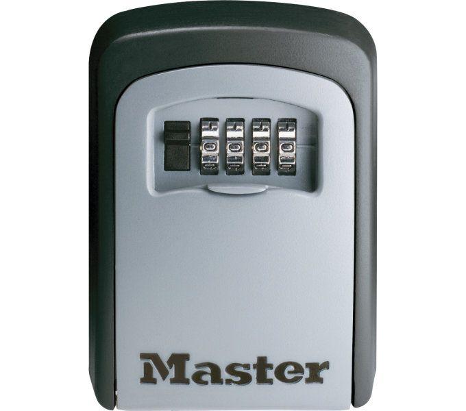 schlosszubehör/Schlösser: Master Lock  Safe-Schloss Select Access 54015403 146 mm x 105 mm x 51 mm Grau