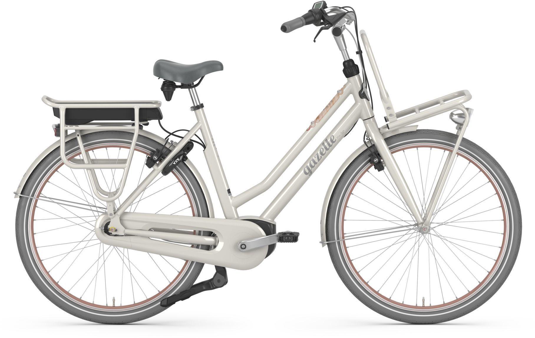 E-Bikes: Gazelle  MISS GRACE C7 HMB (500 Wh) 7 Gang Nabenschaltung Damenfahrrad Tiefeinsteiger Modell 2021 28 Zoll 59 cm