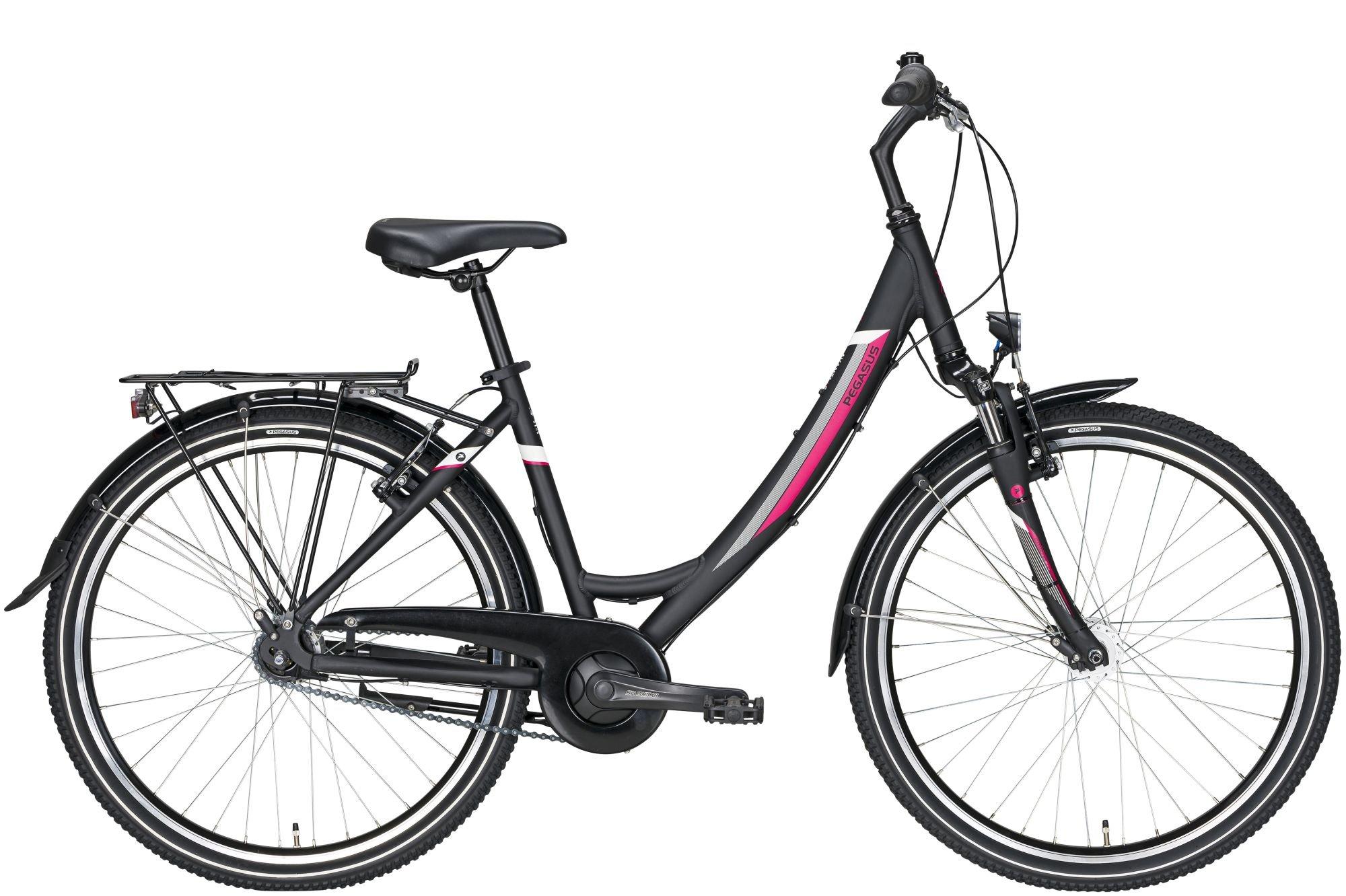 city-/tourenräder/Citybikes: Pegasus  Avanti 7  26 Zoll 7 Gang Nabenschaltung Damenfahrrad Tiefeinsteiger Modell 2020 26 Zoll 43 cm