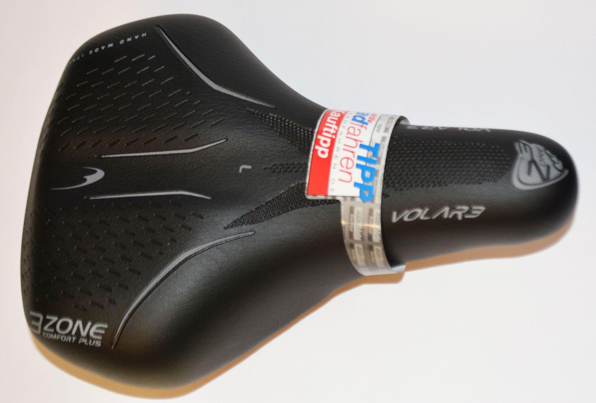 city- und komfort-sättel: Selle Bassano  Volare Z99 Damen-Sattel  245x175mm