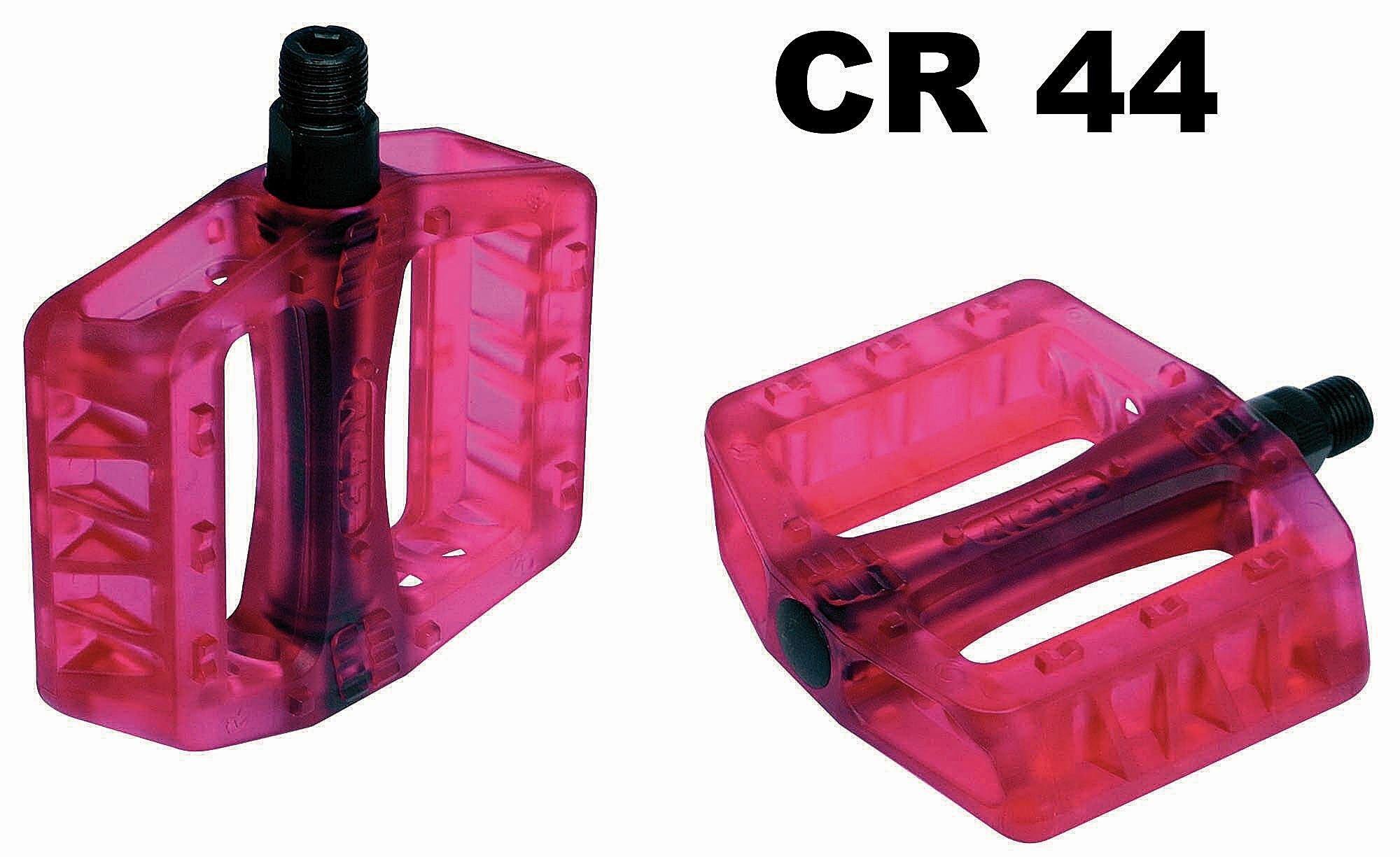 bmx-, dirt -, fr-pedale/Pedale: NC-17  CR 44 Plastic Pro  Plattformpedalen 916 916 Zoll