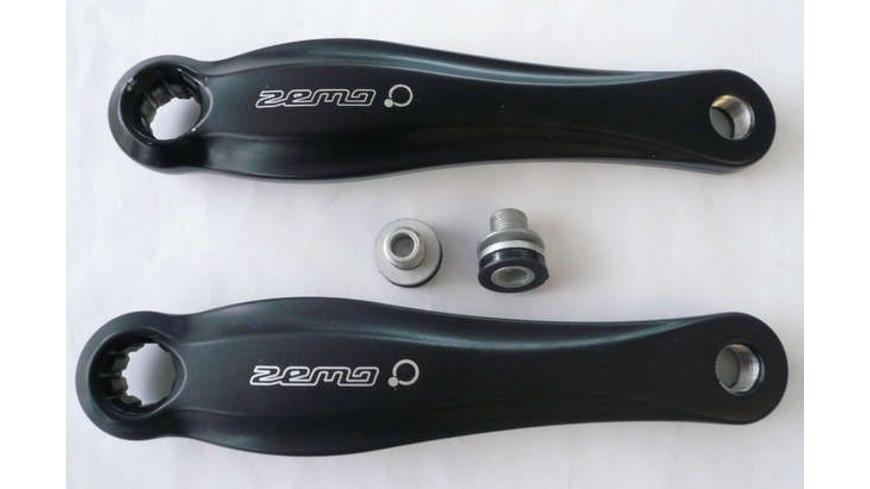 ZEMO Kurbelarm-Set Beta-O 170 mm schwarz Bosch-System