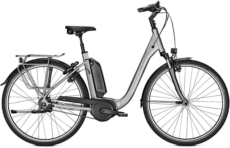 E-Bikes/Citybikes: Kalkhoff  AGATTU 3.B EXCITE RT (500 Wh) 8 Gang Damenfahrrad Tiefeinsteiger Modell 2020 28 Zoll 60 cm