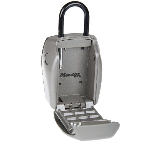 schlosszubehör/Schlösser: Master Lock  Safe-Schloss Select Access 5414 Grau