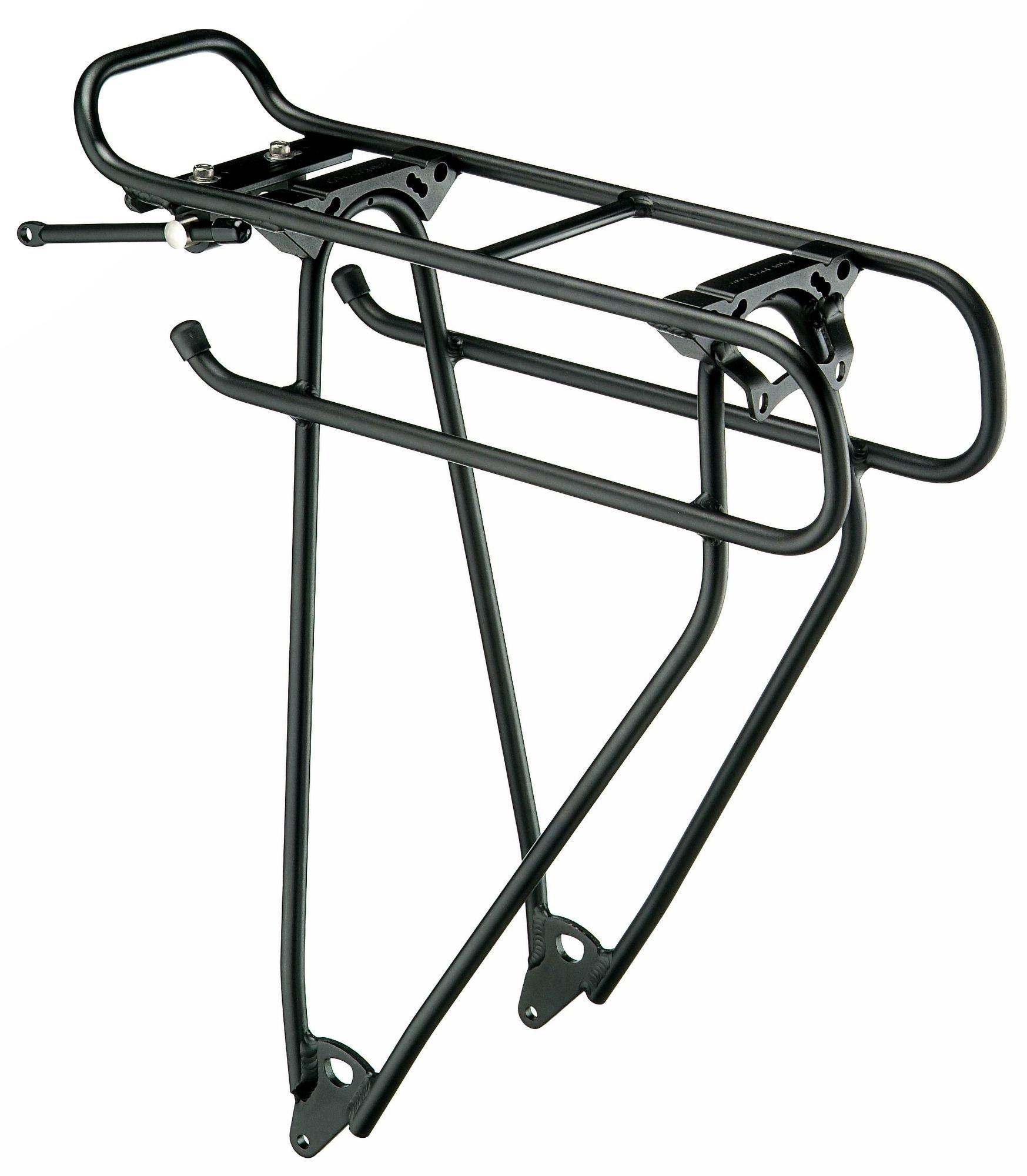 Fahrradteile/Gepäckträger: Racktime  Addit Gepäckträger 26-28 Zoll sw 26-28 Zoll