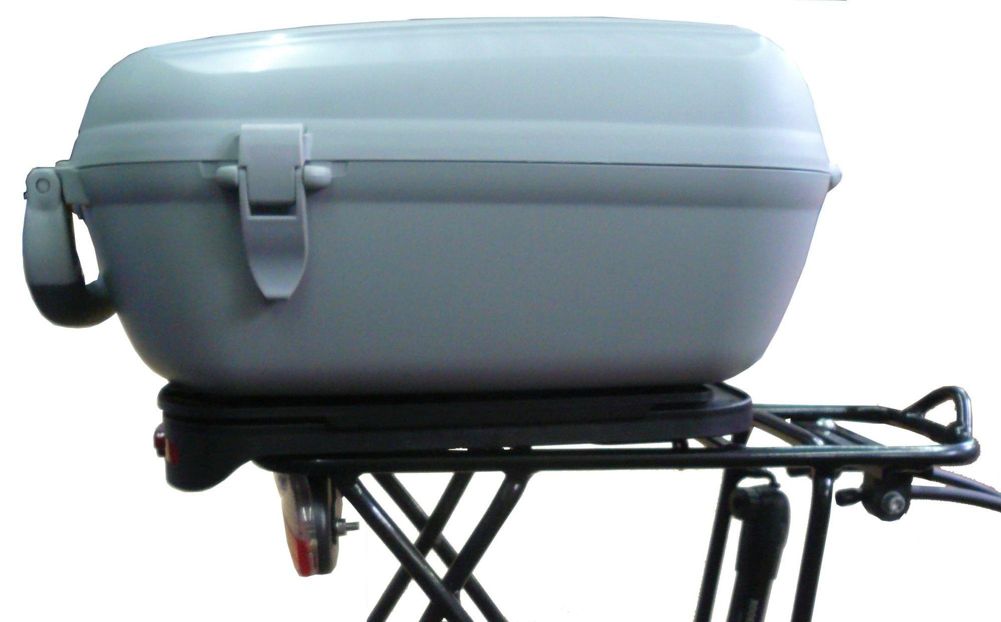 Pegasus Premio SL Fahrradbox inkl. Adapter