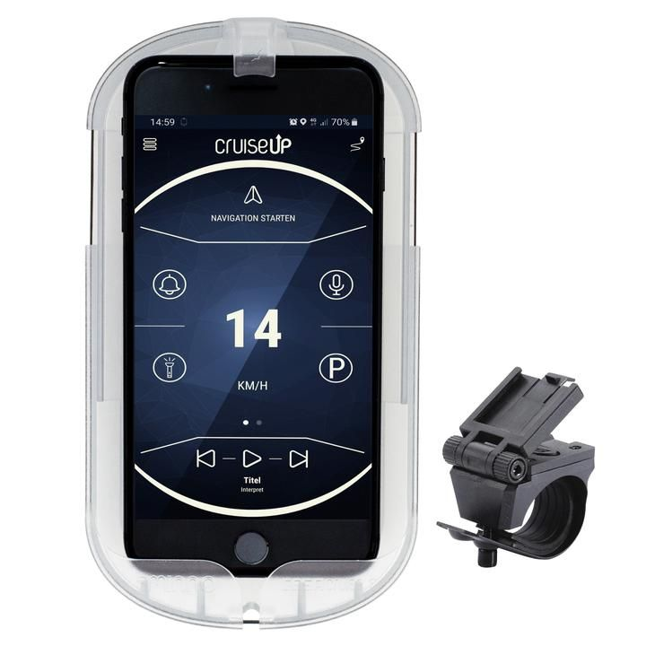 kartenhalter/Lenker: SMINNO  Smartphone Case CESAcruise S