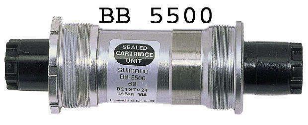 innenlager: Shimano  5500  105 Innenlager BSA 1185 mm Octalink