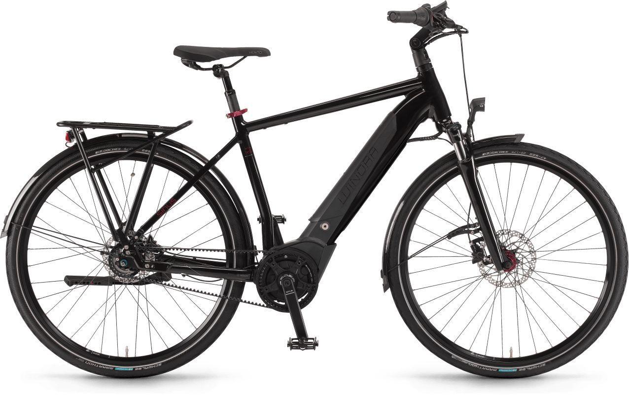 E-Bikes/Citybikes: Winora  Sinus iR8f 8 Gang Nabenschaltung Herrenfahrrad Diamant Modell 2021 28 Zoll 60 cm