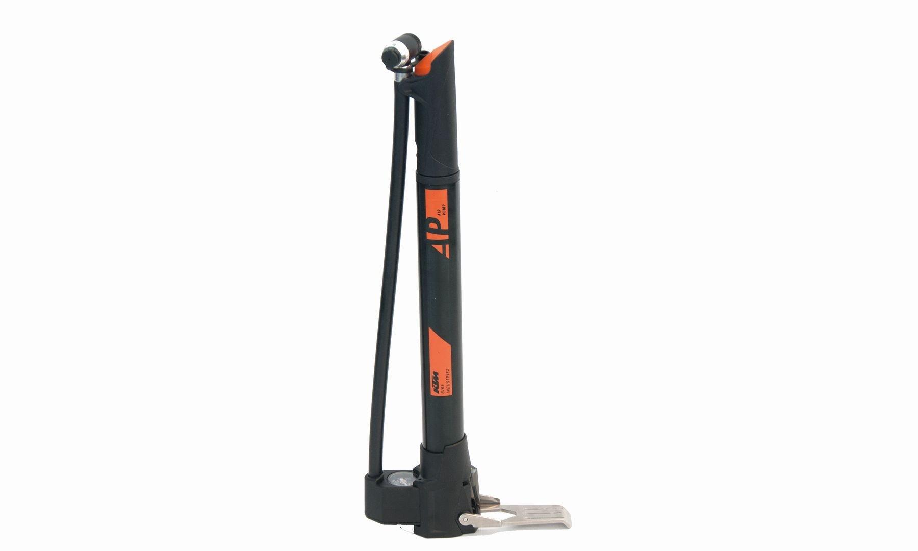 KTM Standpumpe Ministandpumpe mit Schlauch und Manometer