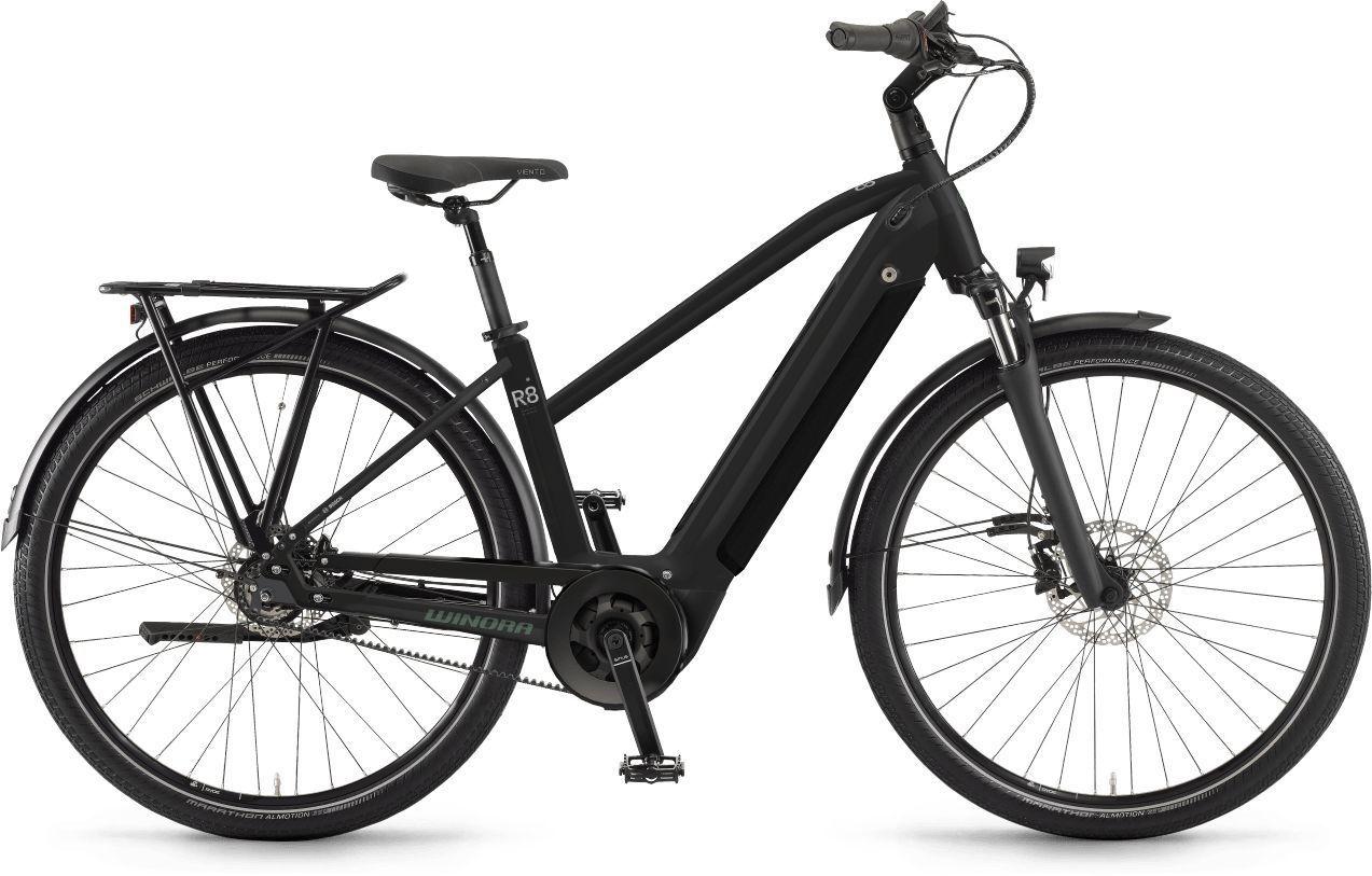 E-Bikes/Citybikes: Winora  Sinus R8f 8 Gang Nabenschaltung Damenfahrrad Trapez Modell 2021 27.5 Zoll 52 cm