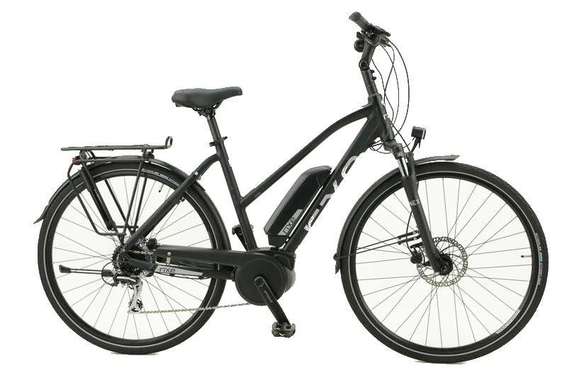 E-Bikes/Citybikes: Rixe  Montpellier B8 400 (111 Ah) 8 Gang Damenfahrrad Trapez Modell 2019 28 Zoll 45 cm