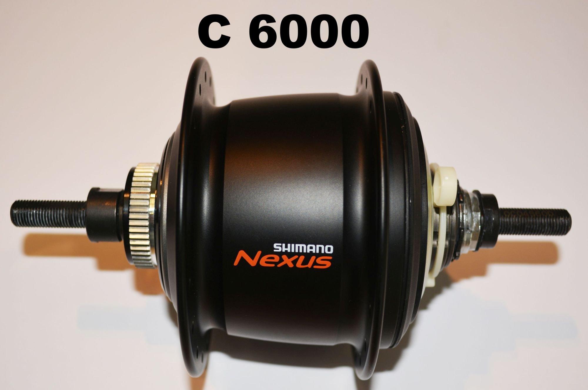 nabenschaltungen: Shimano  C6000-8R Nexus Inter 8 Freilauf Getriebenabe