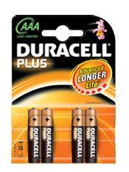 zubehör computer & pulsuhren: Duracell  Plus Micro AAA LR03-MN2400 4-er