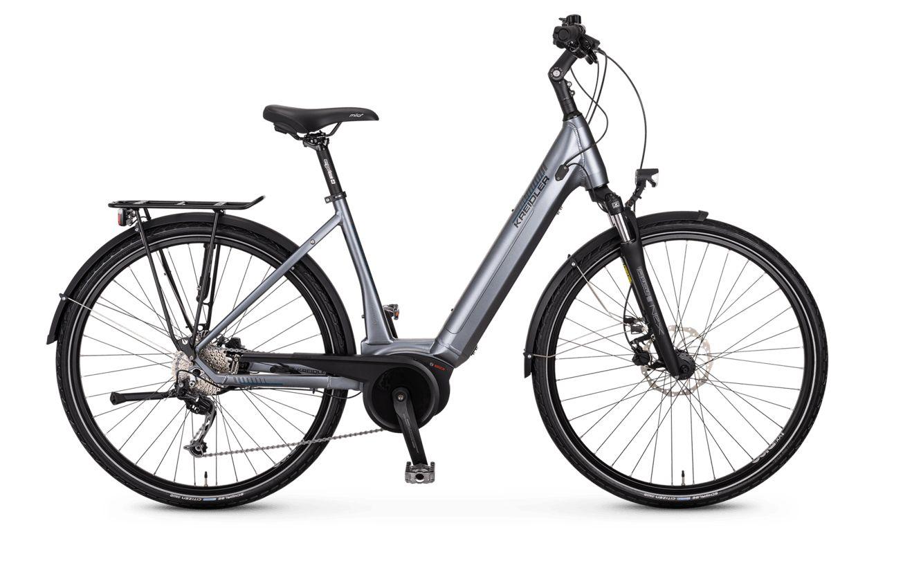 E-Bikes: Kreidler  Vitality Eco 7 (400 Wh) 9 Gang Kettenschaltung Damenfahrrad Wave Modell 2020 28 Zoll 55 cm