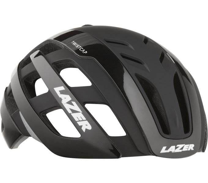 rennrad-helme/Helme: Lazer  Fahrradhelm Century 52-56 cm Matte Black
