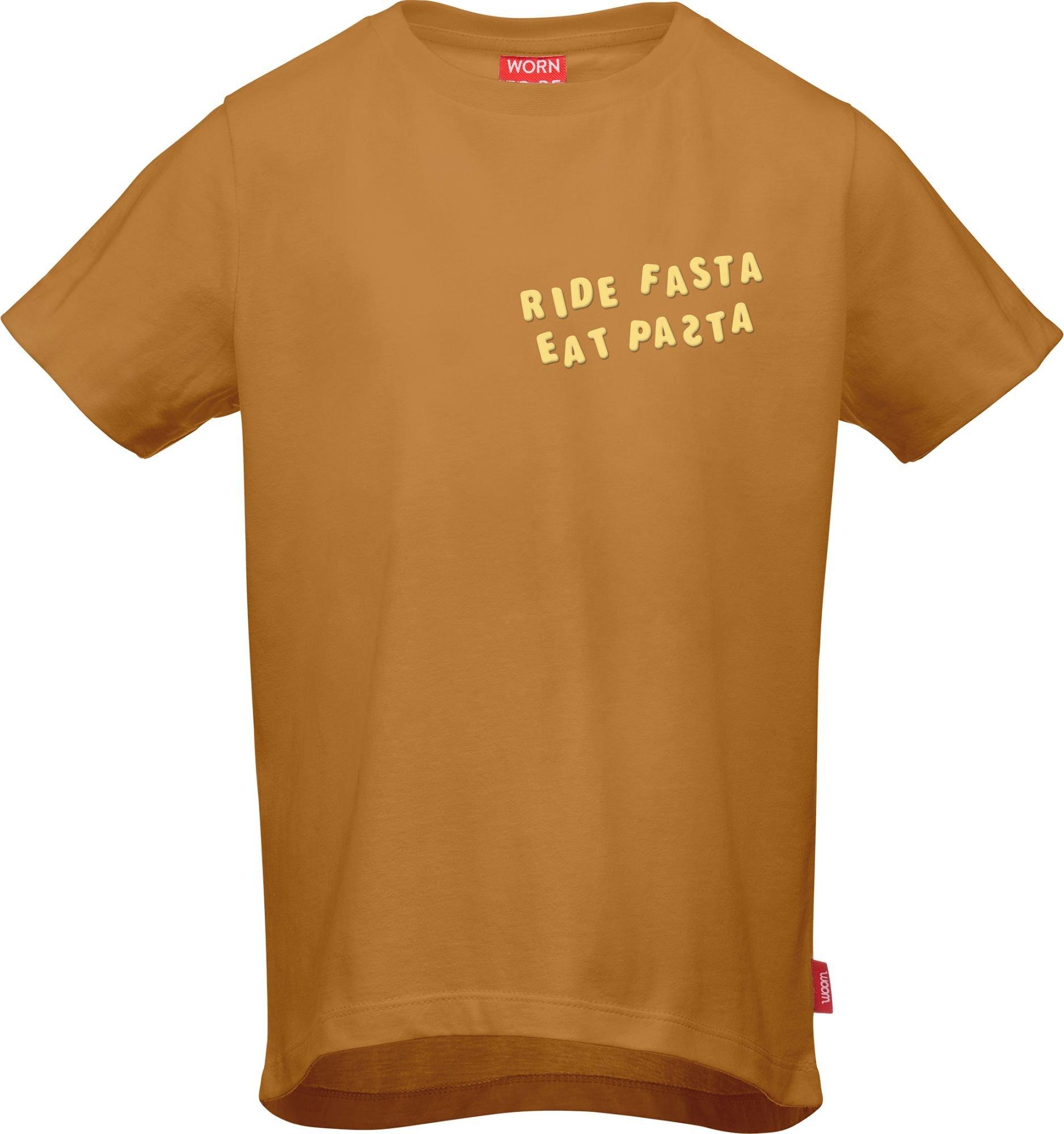 bekleidung: WOOM  T-Shirt RIDE FASTA EAT PASTA 100110