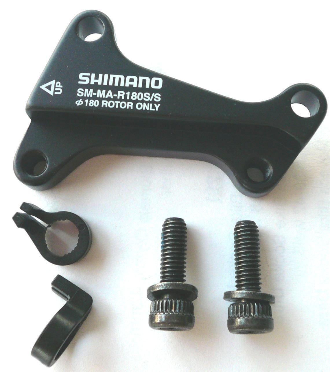 scheibenbremsen/Bremsen: Shimano  Bremsscheibenadapter HR 180 ISIS