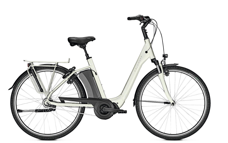 E-Bikes/Citybikes: Kalkhoff  AGATTU 3.S MOVE FL (621 Wh) 7 Gang Damenfahrrad Tiefeinsteiger Modell 2020 28 Zoll 60 cm