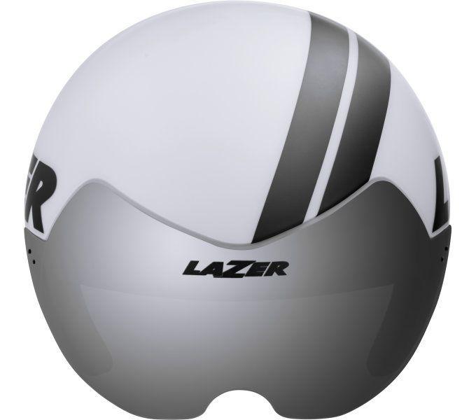 rennrad-helme/Helme: Lazer  Fahrradhelm VICTOR 52-56 cm Matte White
