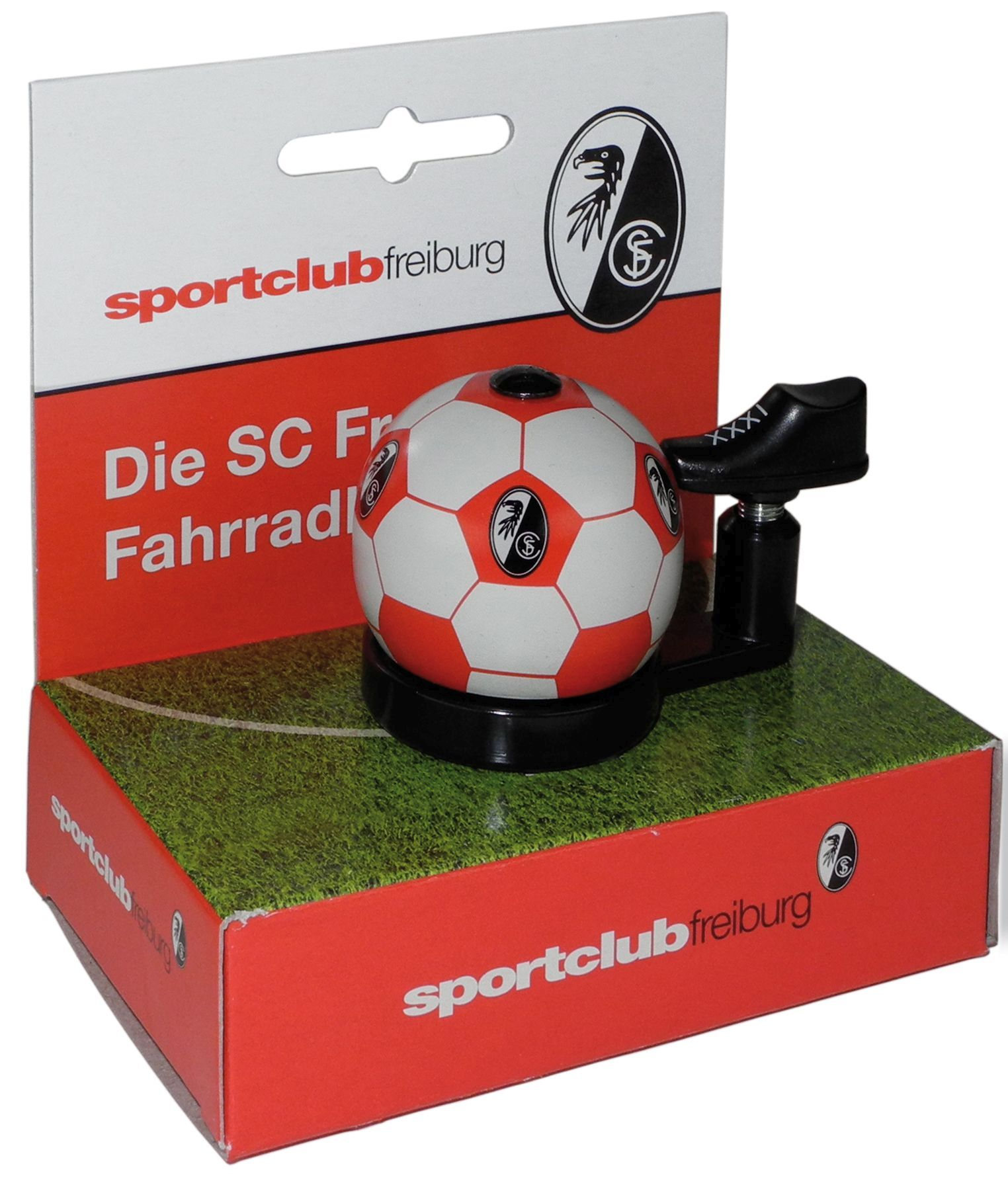 glocken & hupen/Klingeln & Hupen: FanBike  SC Freiburg Fan-Klingel