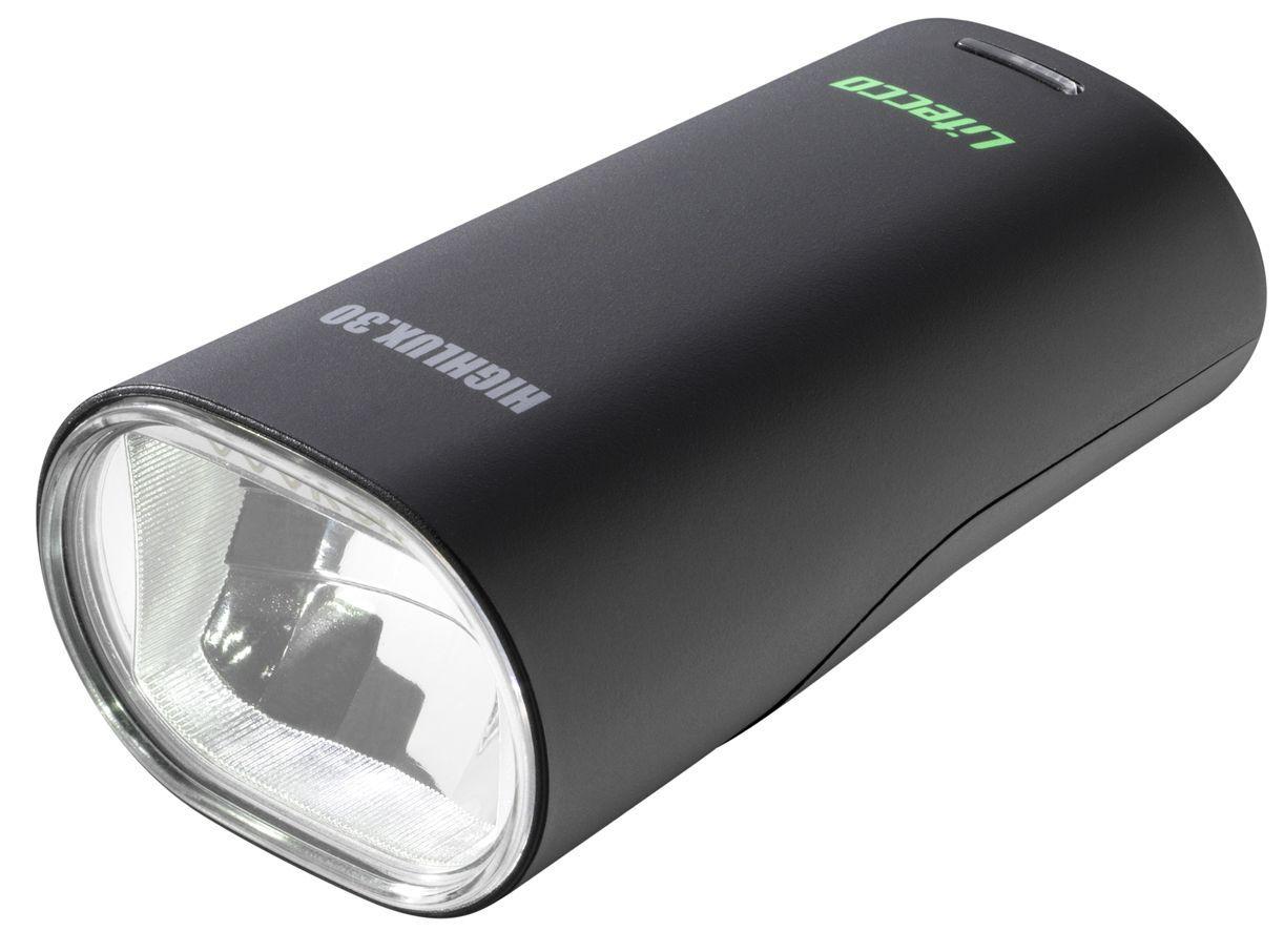 Litecco Highlux 30 Lux Batterie-Frontleuchte schwarz