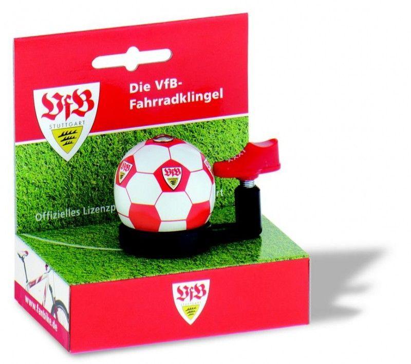 glocken & hupen/Klingeln & Hupen: FanBike  VfB Stuttgart Fan-Klingel