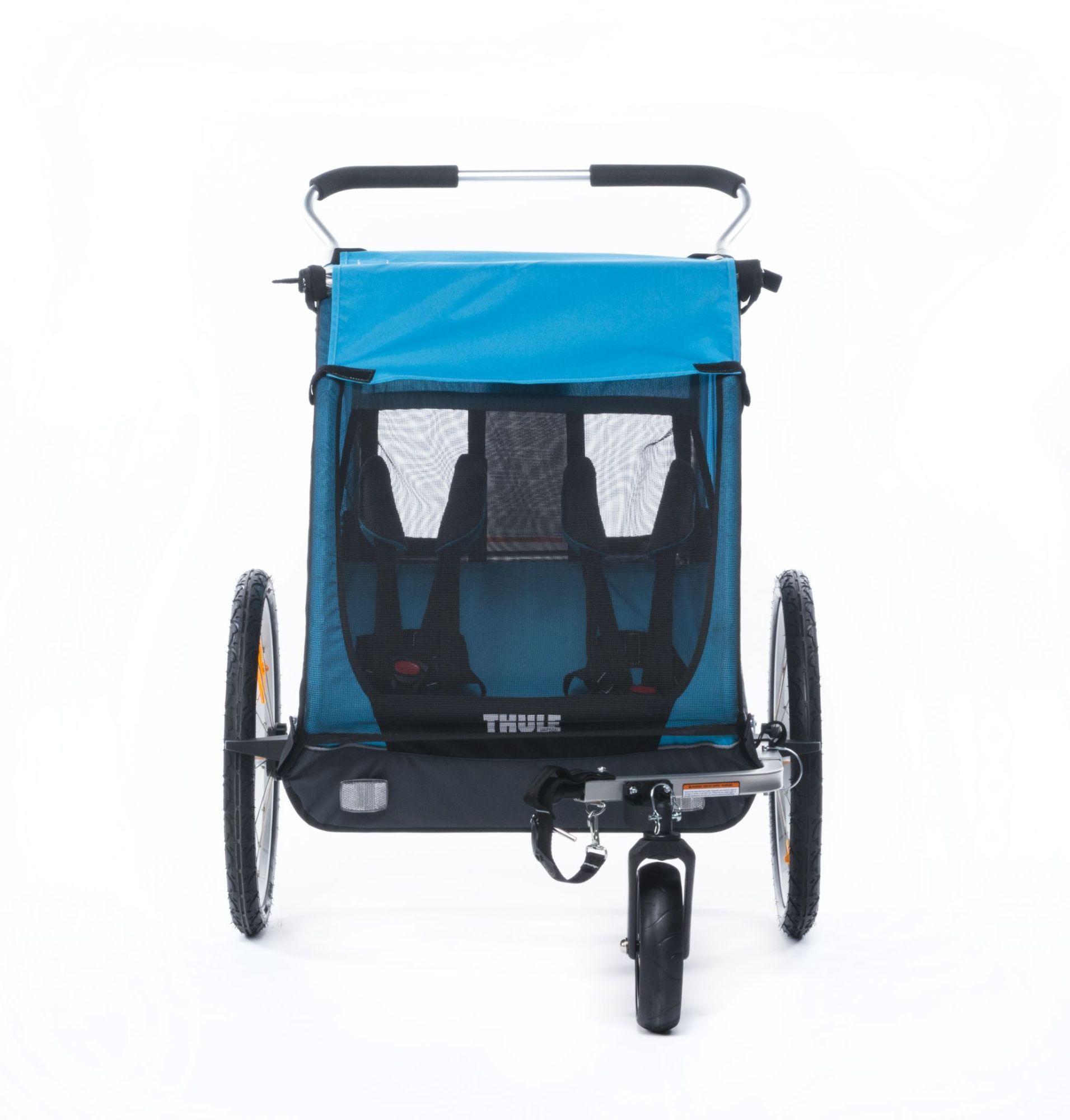 Thule Kinderanhänger Coaster blau/schwarz